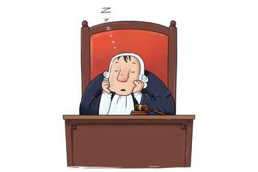sleeping justice
