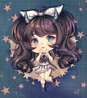 [Chibi Commission]  Cute stars !