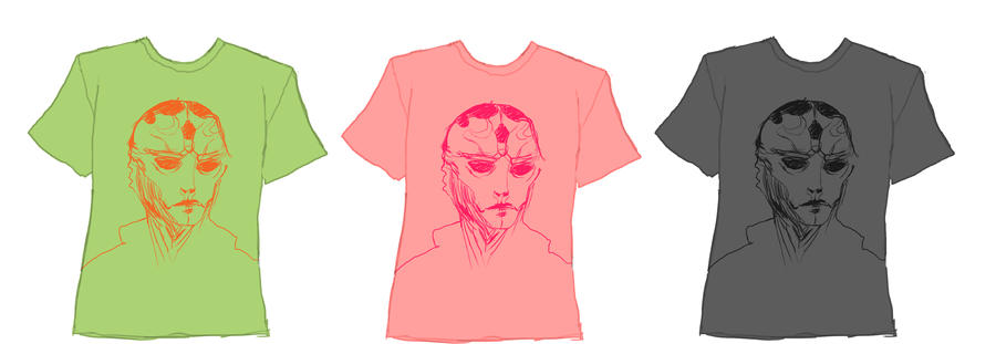 Thane T Shirt Quick by Aeylis