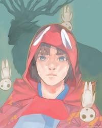 Princess Mononoke: Ashitaka by Aeylis