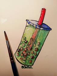 2020 Watercolour Boba