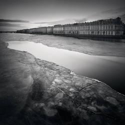 Palace Embankment, Study 2  St. Petersburg, Ru
