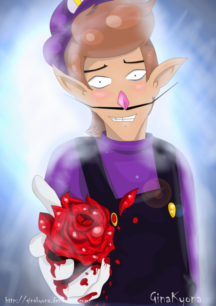 [Waluigi] Bloody Love by GinaKyona