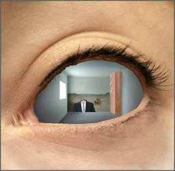 in the eye by ILIKESURREAL