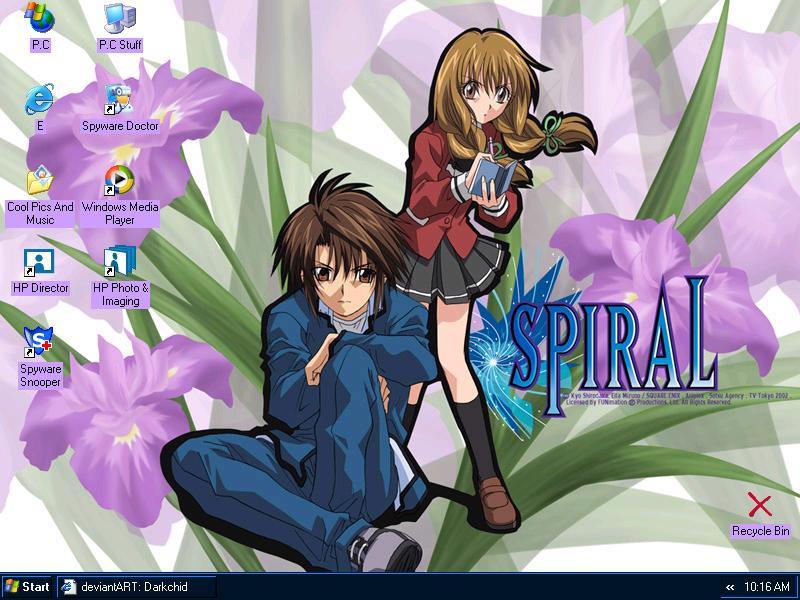 ~:.Spiral.:~ Ayumu and Hiyono by Darkchid