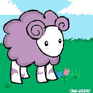 +::Fluffy little Sheep::+ by Darkchid