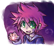 iScribble -lady with cool hair by Mother1-Ninten