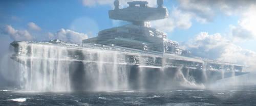 Star Wars - Star Destroyer H - Mon Cala Expedition