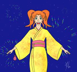 Animecolourful Yukata Design Prize