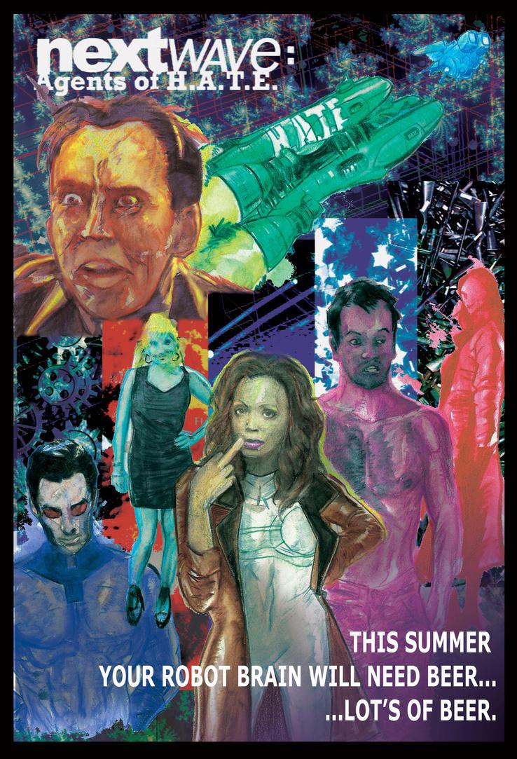 NextWave movie poster by Mathieugeekboy