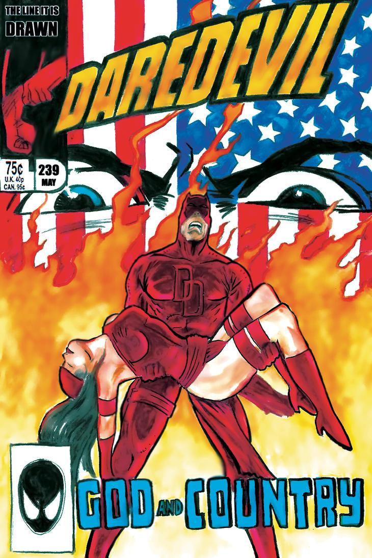 Daredevil Born Again Dark Phoenix Final by Mathieugeekboy