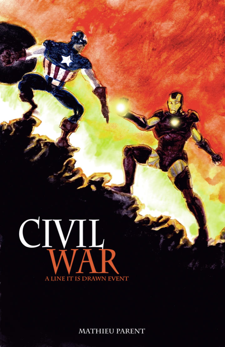 Civil War by Mathieugeekboy