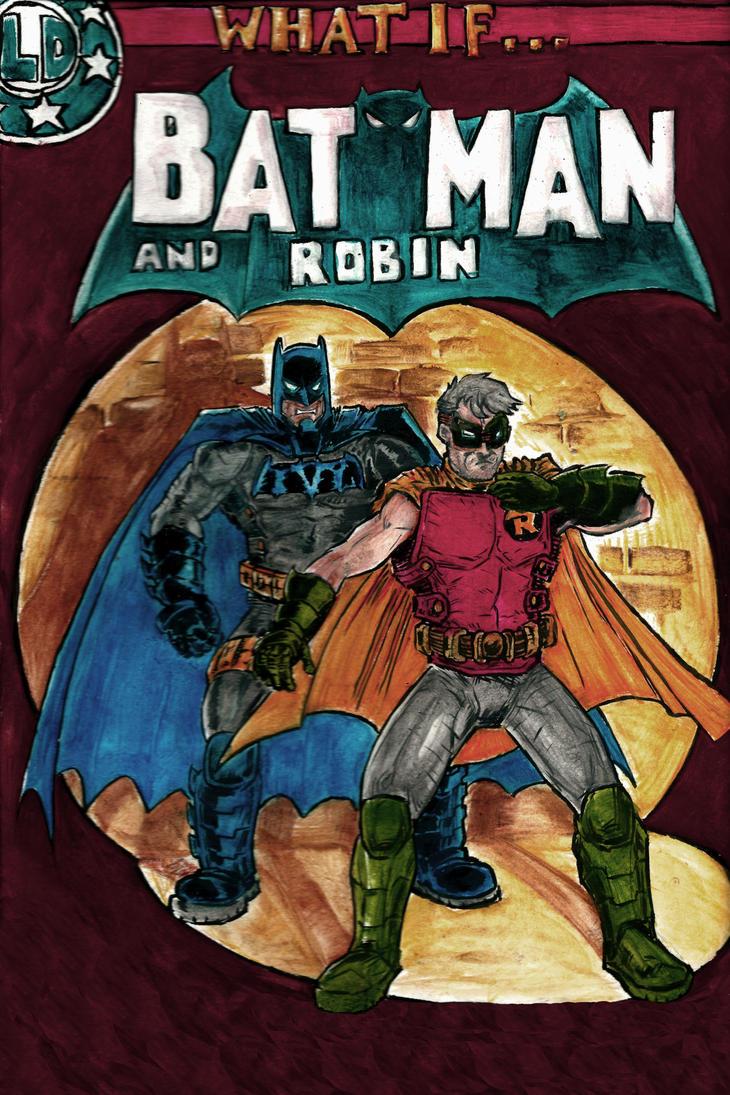 Batman and Robin by Mathieugeekboy