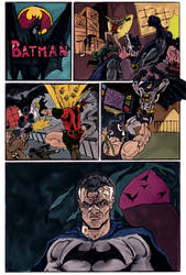 Bat-Page by Mathieugeekboy