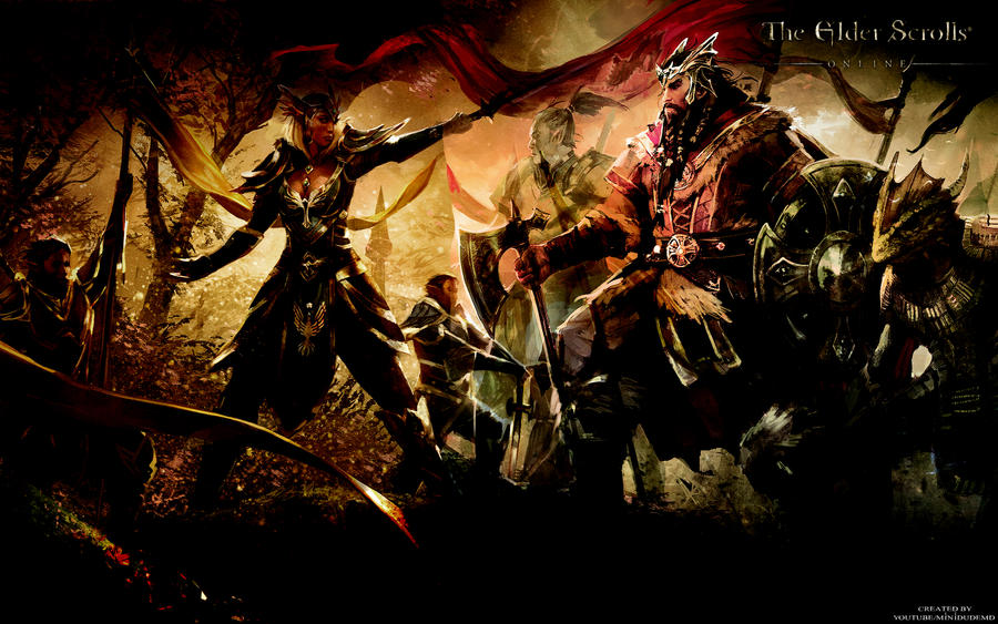 The Elder Scrolls: Online - Wallpaper by MiniDudeMD