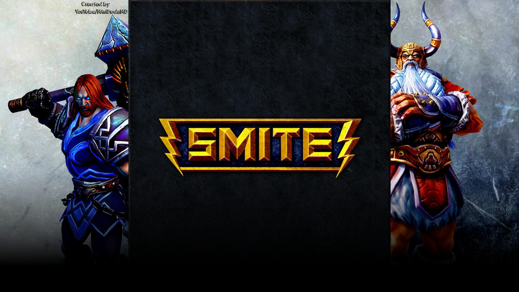SMITE - Thor-Odin - YouTube Background by MiniDudeMD on ...