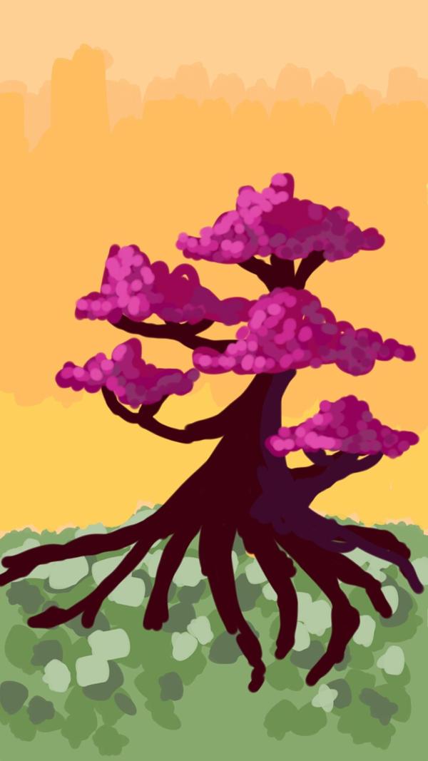 Tree Sketch Challenge  by Sibu-Sabu