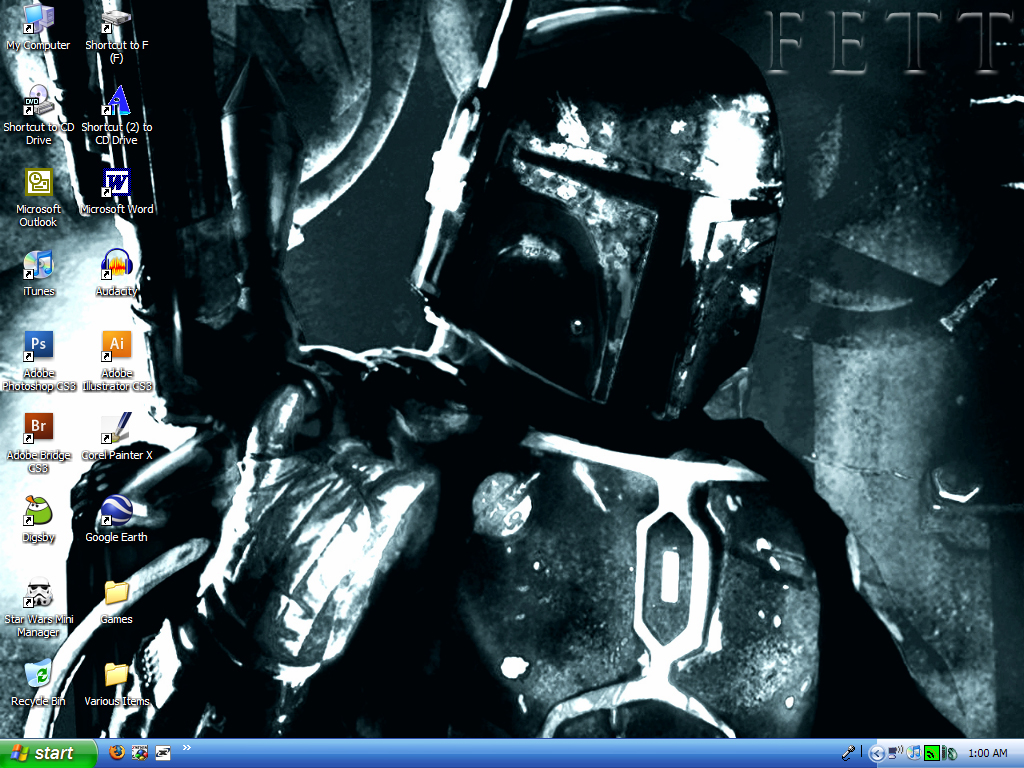Boba Fett Wallpaper by FencerScokeFaofa
