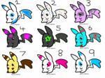 Pikachu adoptables 4 left!!!