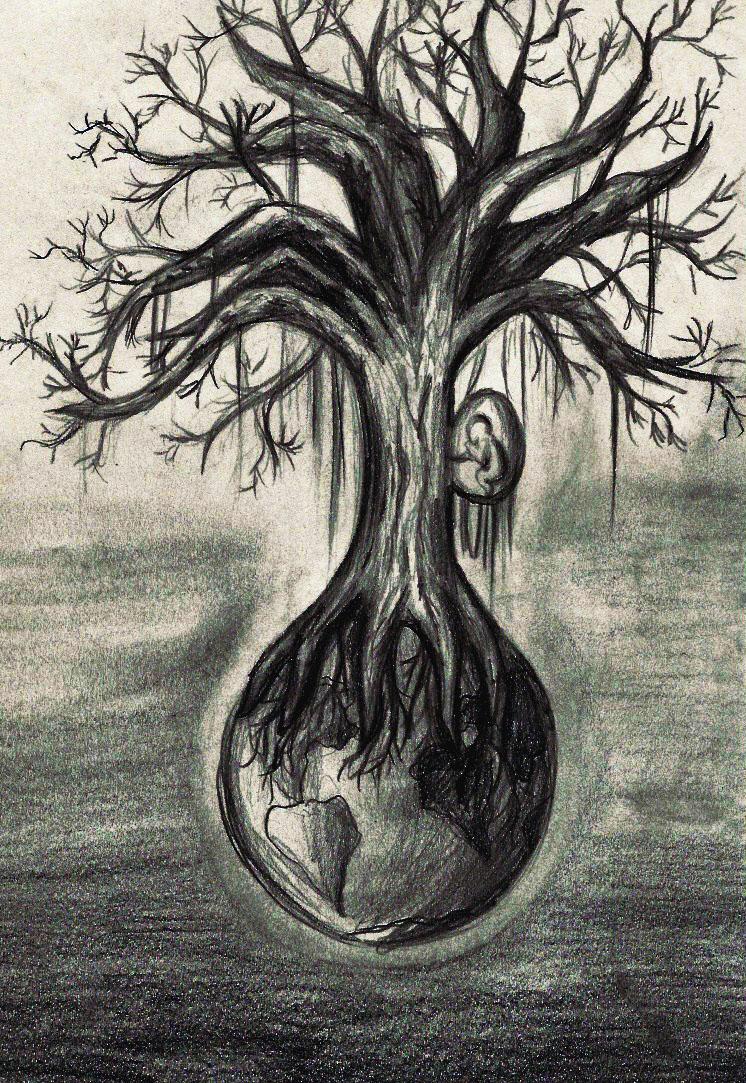 scary tree by minnimi on deviantart