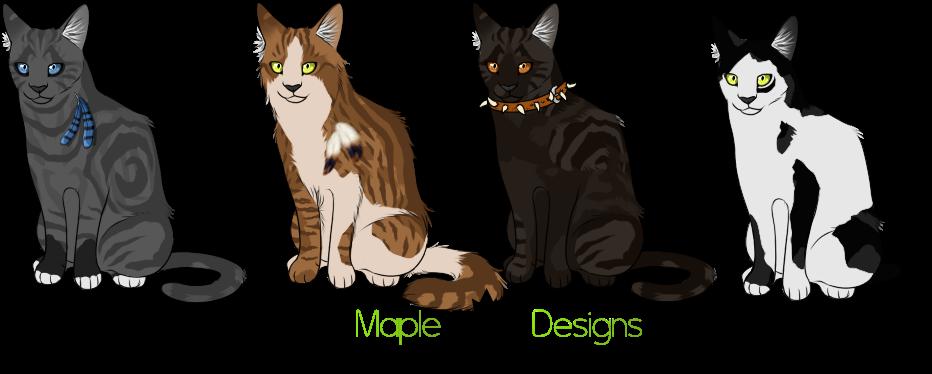ota warrior cat designs 2 34 open by mapledesigns on