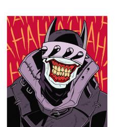 The Batman Who Laughs by CaptainUnobservant