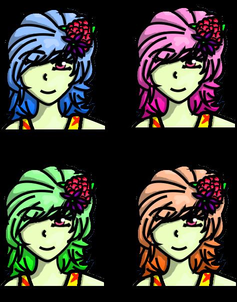 Zytka's Hair by Fyreglyphs