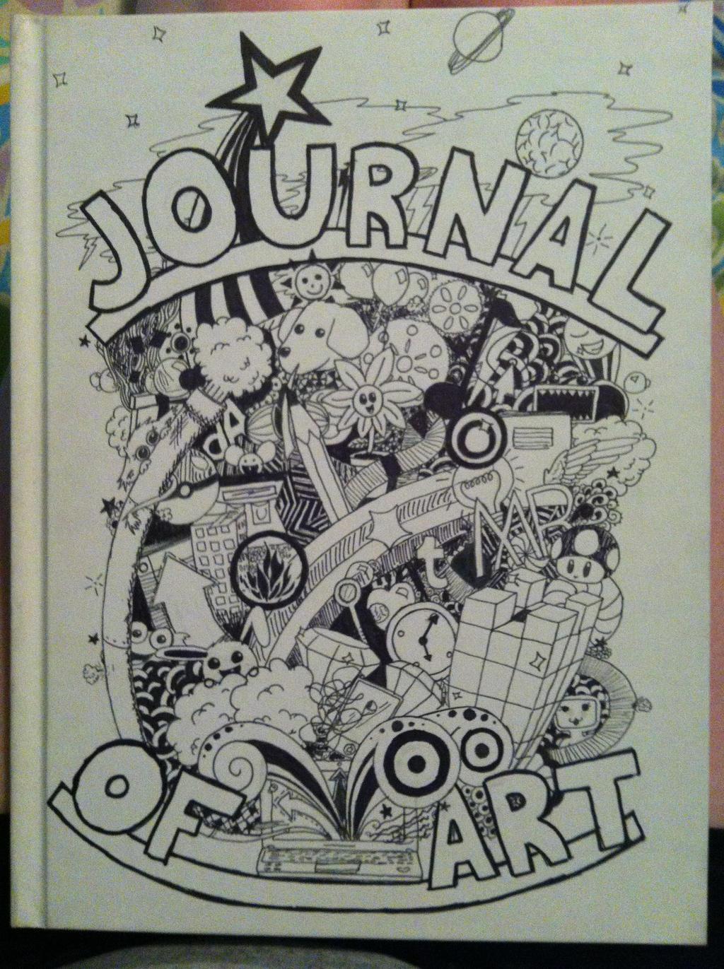 Journal of Art - Doodle by Fyreglyphs