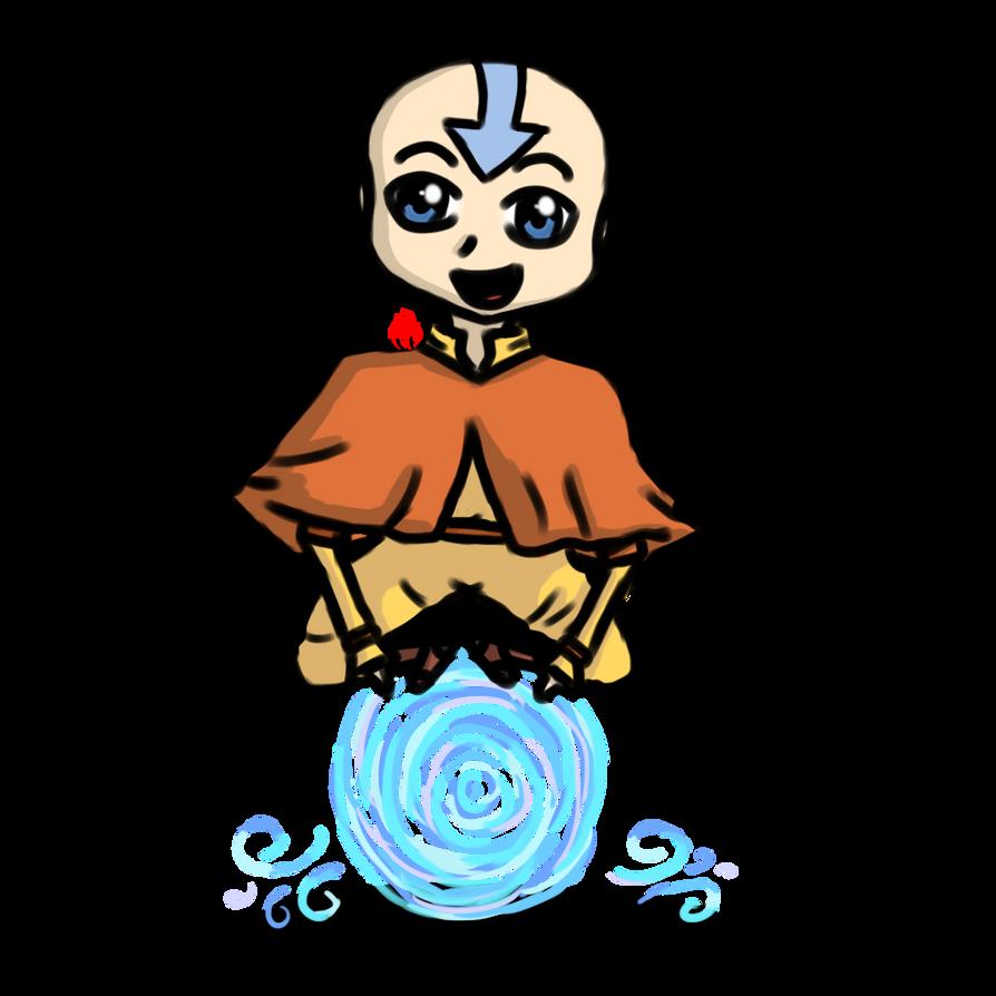 Aang the Airbender by Fyreglyphs
