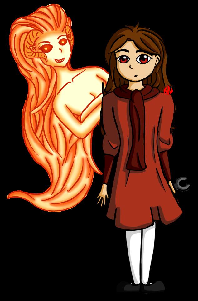 Ava and Wrathia by Fyreglyphs