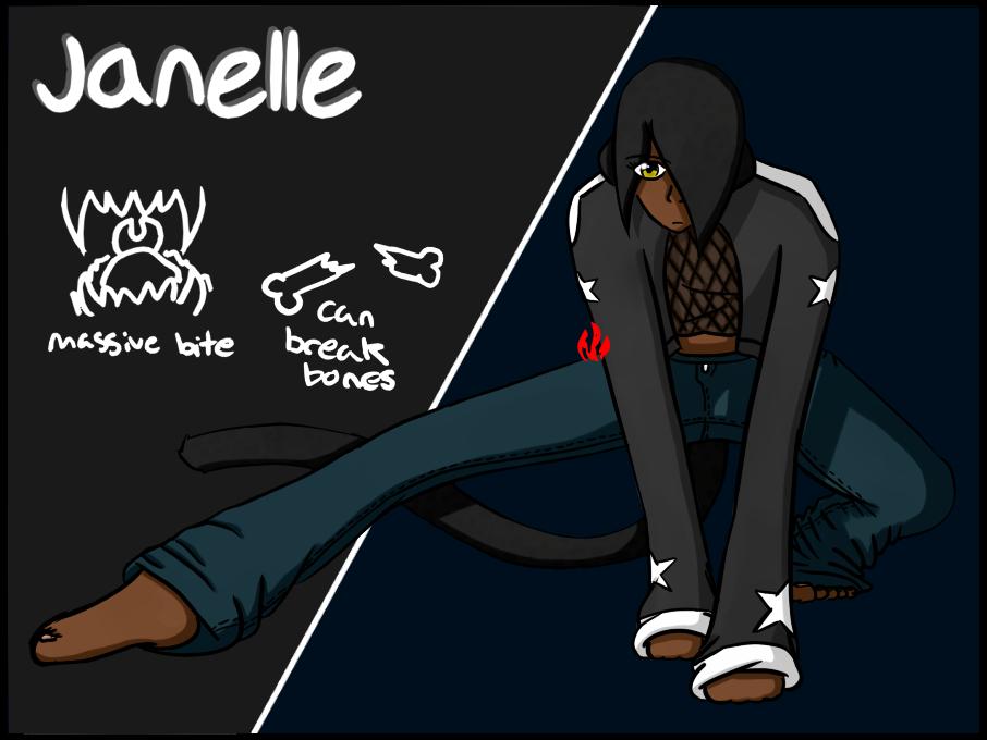Janelle by Fyreglyphs
