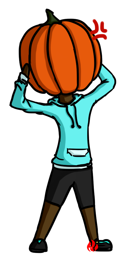 Pumpkin Head by Fyreglyphs