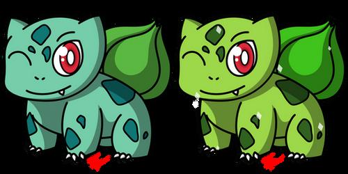 Pokemon #001 - Bulbasaur by Fyreglyphs