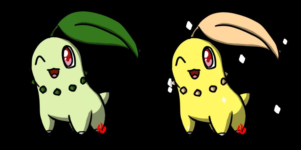 Pokemon #152 - Chikorita by Fyreglyphs