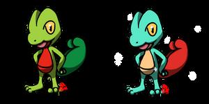 Pokemon #252 - Treecko by Fyreglyphs