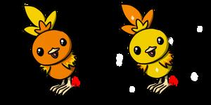 Pokemon #255 - Torchic by Fyreglyphs