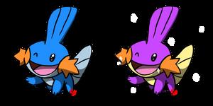 Pokemon #257 - Mudkip by Fyreglyphs