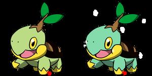 Pokemon #387 - Turtwig by Fyreglyphs