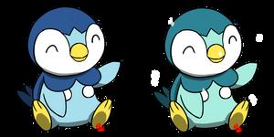 Pokemon #393 - Piplup by Fyreglyphs