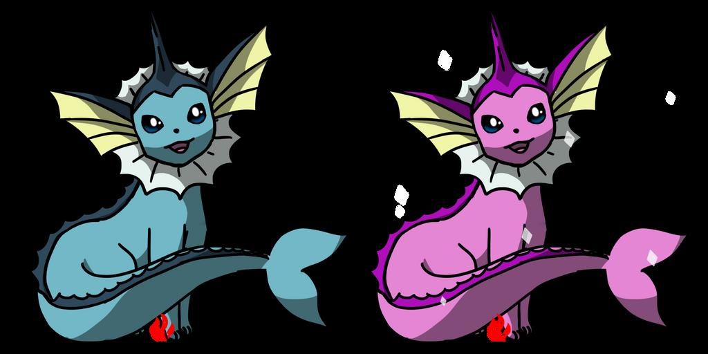 Pokemon #134 - Vaporeon by Fyreglyphs