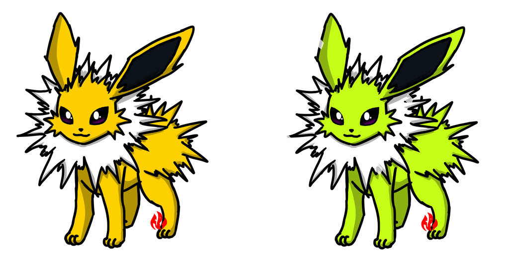 Pokemon #135 - Jolteon by Fyreglyphs