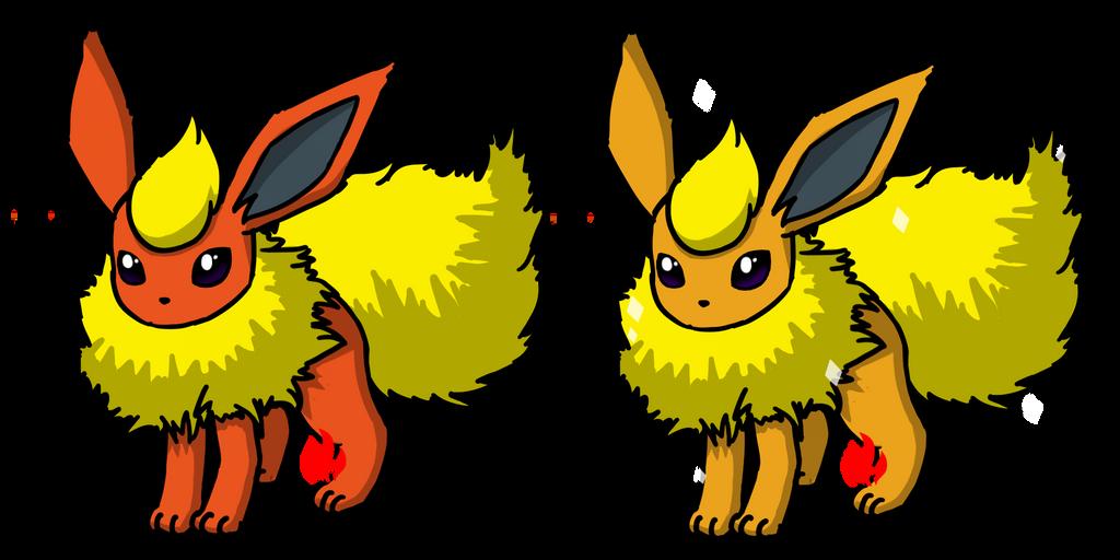 Pokemon #136 - Flareon by Fyreglyphs