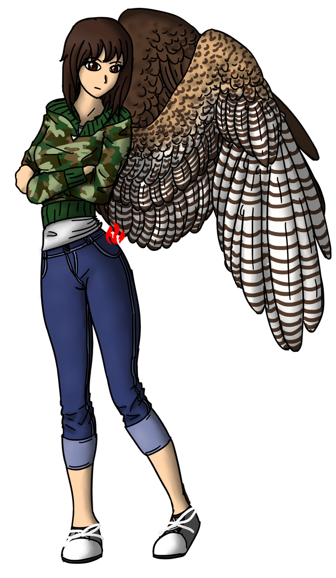 [If I had Wings...] AU - Breezy by Fyreglyphs