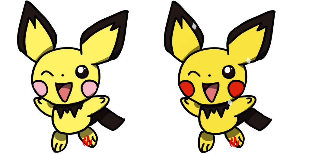 Pokemon #172 - Pichu by Fyreglyphs