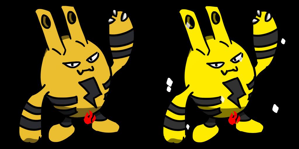 Pokemon #239 - Elekid by Fyreglyphs