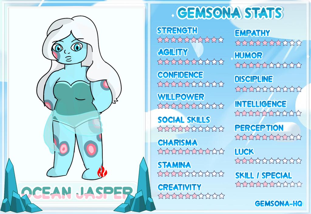Ocean Jasper - Stats by Fyreglyphs