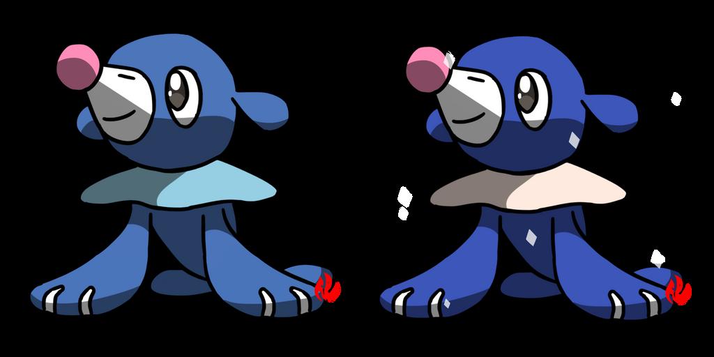 Pokemon #728 - Popplio by Fyreglyphs