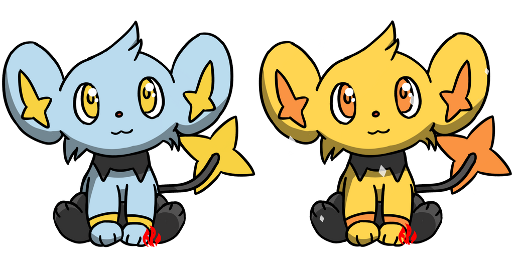 Pokemon #403 - Shinx by Fyreglyphs