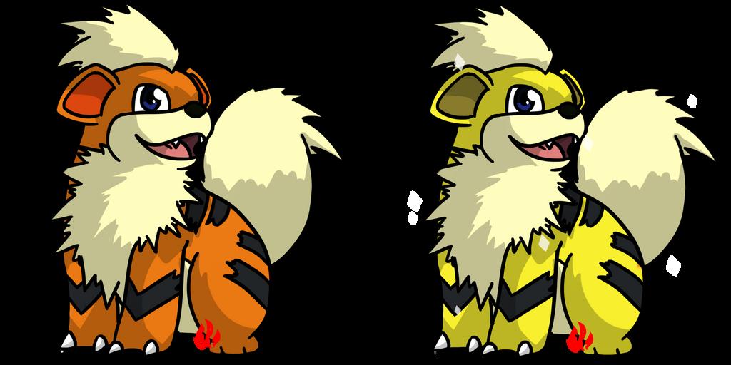 Pokemon #058 - Growlithe by Fyreglyphs