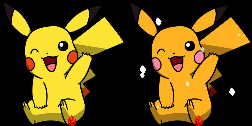 Pokemon #025 - Pikachu by Fyreglyphs